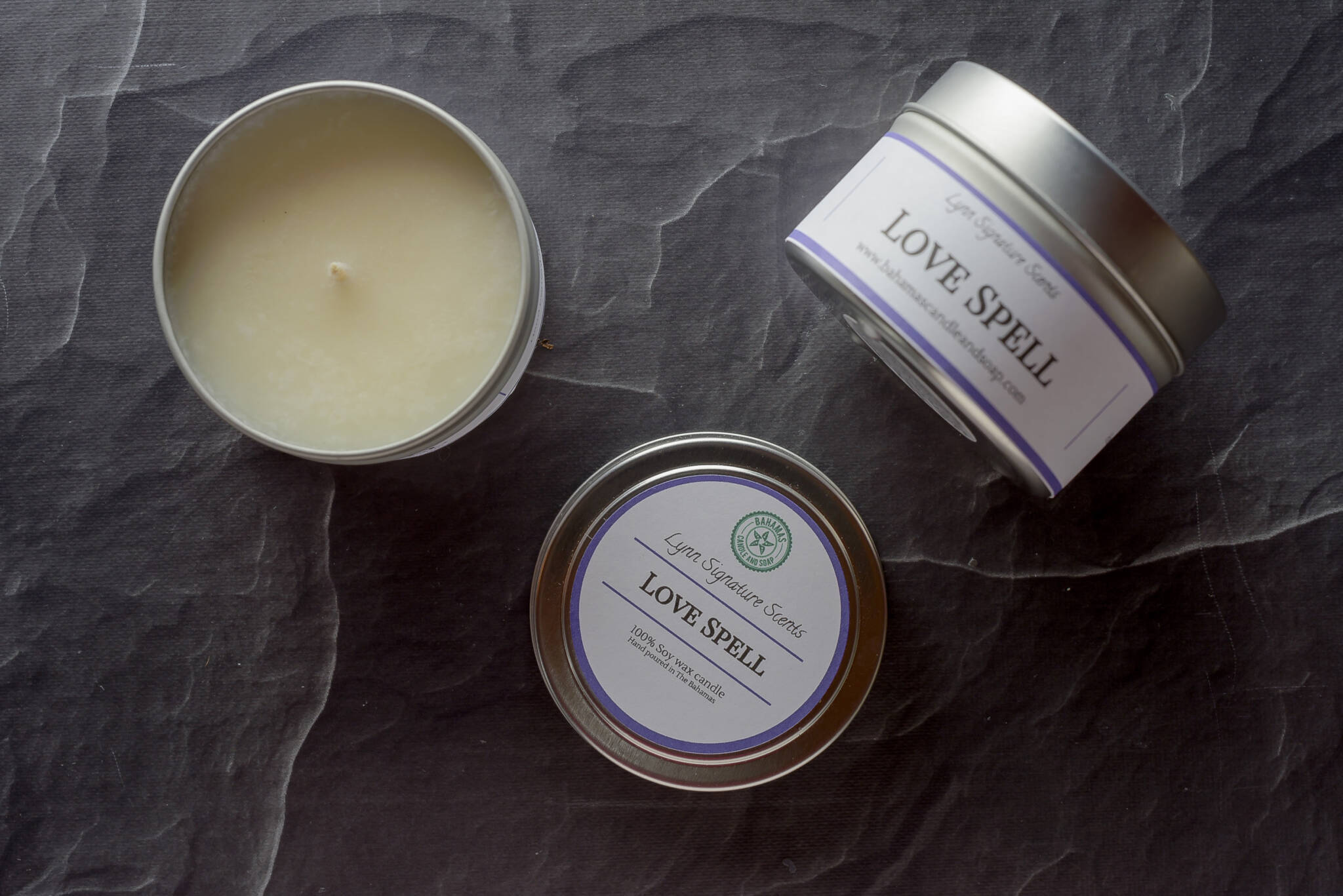 Love Spell Handmade Soy Wax Candle