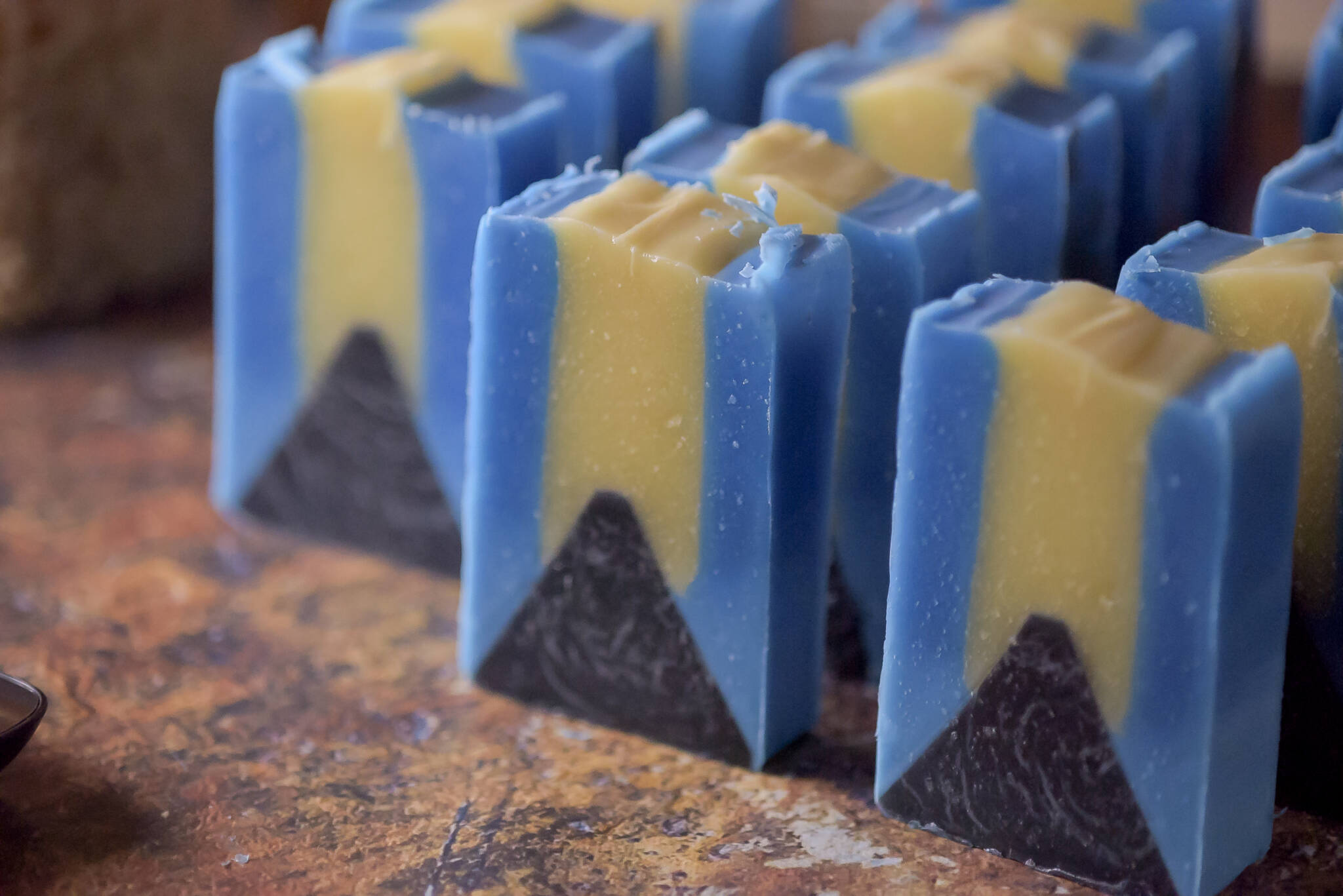 handmade artisan cold process soap