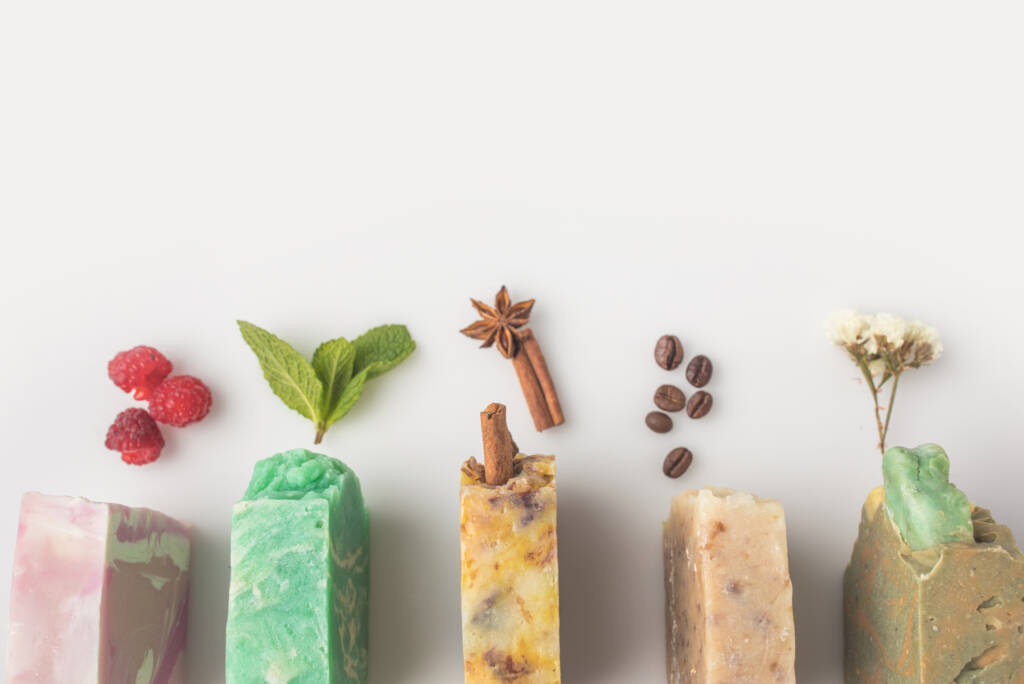 Handmade soap, soap ingredients, cold process soap